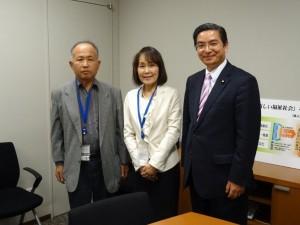 徳島県腎臓病協議会 豊田副会長・甲斐さん