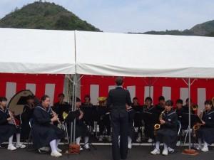 ブラスバンド演奏