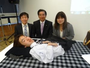 佐藤さん・佐藤さんのお母さん・青野社長