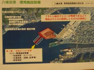 八幡浜港の整備