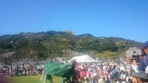 みなっとでの秋祭り(八幡浜)