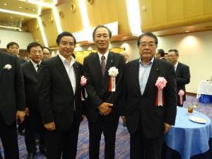 工藤新会長と石田衆院議員
