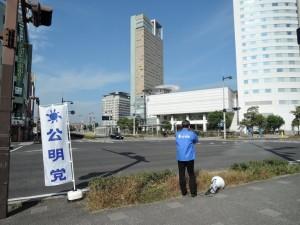高松駅前街頭