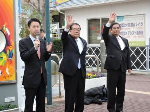 3人の国会議員