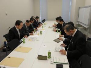 斉藤幹事長代行と共に参加
