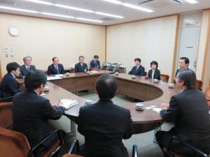 久保田市長と懇談