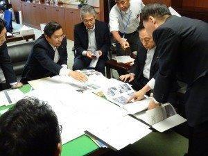太田大臣に要望