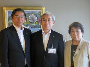 内田理事長・安達広島市議