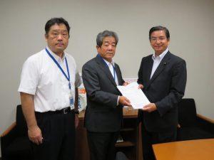 石川委員長らからの要望