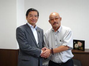 田中組合長理事と