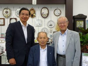 坂本会長・濱野先輩