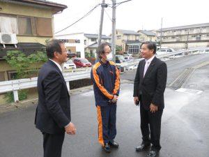 前田議員と訪問